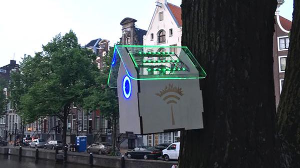 """Il Wi-Fi """"pulito"""" di Amsterdam"""