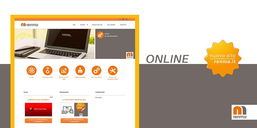 RENMA.it è online