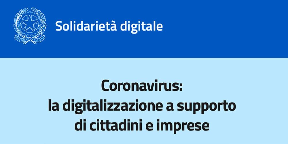 Solidarietà Digitale - Ministero dell'Innovazione