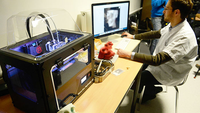 Stampante 3D ad uso medico