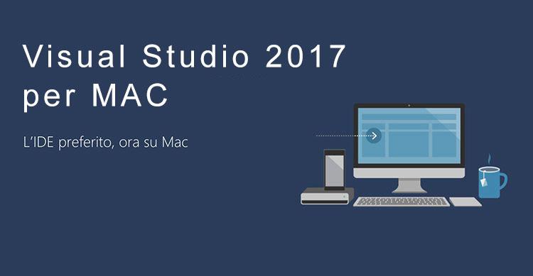 Visual Studio 2017 per Mac