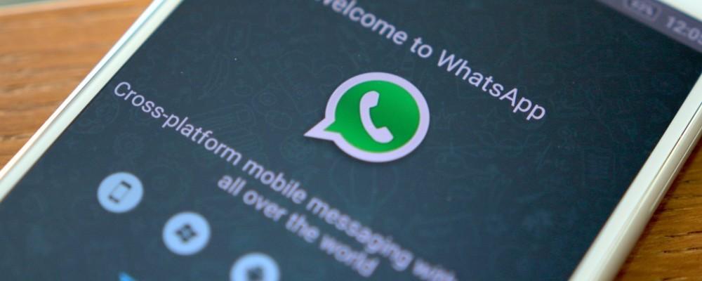 Whatsapp in blackout